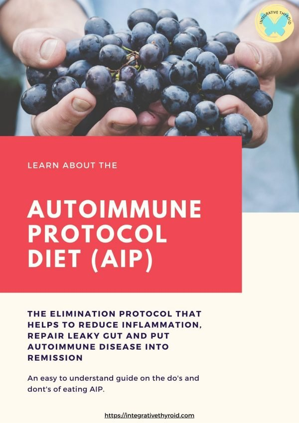 auto immune protocol diet for hashimoto's thyroiditis