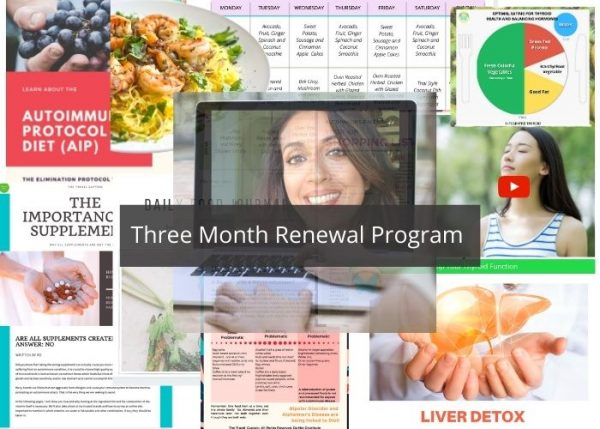 3 month thyroid recovery program for Hypothyroidism